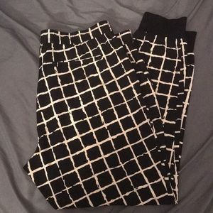 Jogger dress pants.